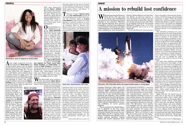 Article Preview: A mission to rebuild lost confidence, September 1984 | Maclean's