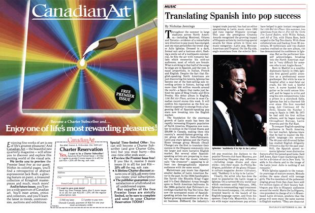 Article Preview: Translating Spanish into pop success, September 1984 | Maclean's
