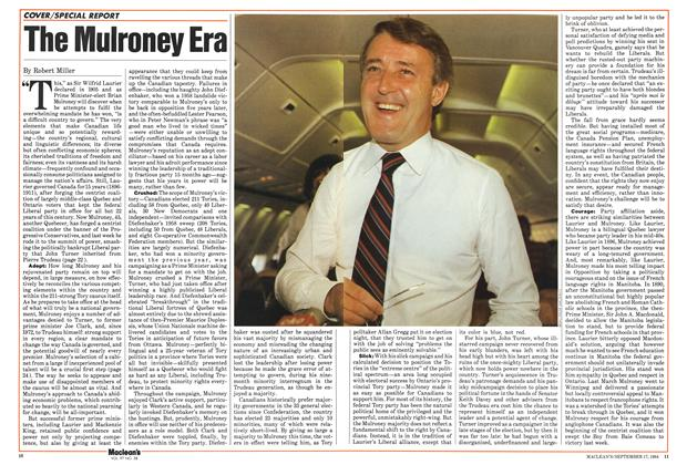 Article Preview: The Mulroney Era, September 1984 | Maclean's