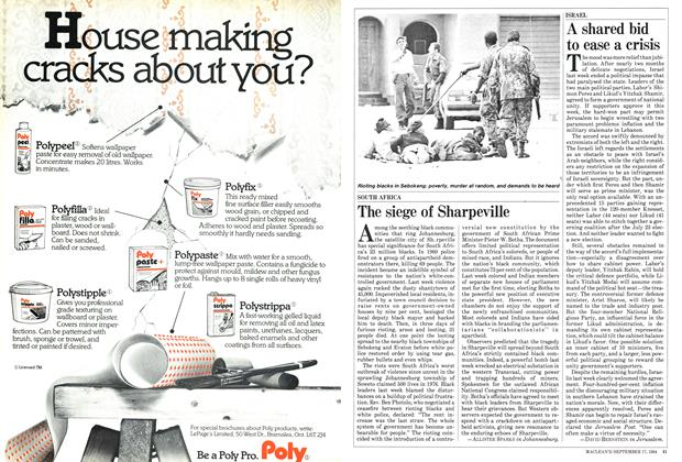 Article Preview: The siege of Sharpeville, September 1984 | Maclean's