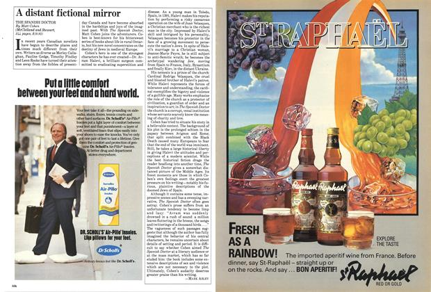 Article Preview: A distant fictional mirror, September 1984 | Maclean's