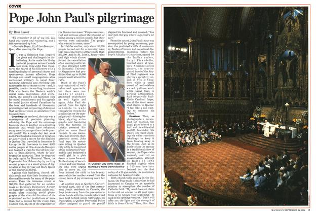 Article Preview: Pope John Paul's pilgrimage, SEPTEMBER 24,1984 1984 | Maclean's