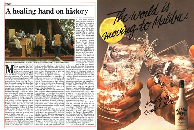 Article Preview: A healing hand on history, SEPTEMBER 24,1984 1984 | Maclean's