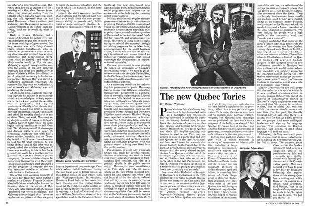 Article Preview: The new Quebec Tories, SEPTEMBER 24,1984 1984 | Maclean's