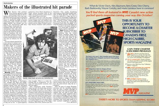 Article Preview: Makers of the illustrated hit parade, SEPTEMBER 24,1984 1984 | Maclean's