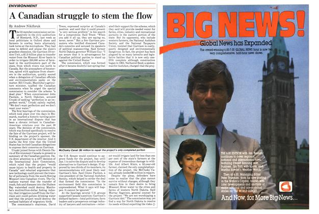 Article Preview: A Canadian struggle to stem the flow, SEPTEMBER 24,1984 1984 | Maclean's