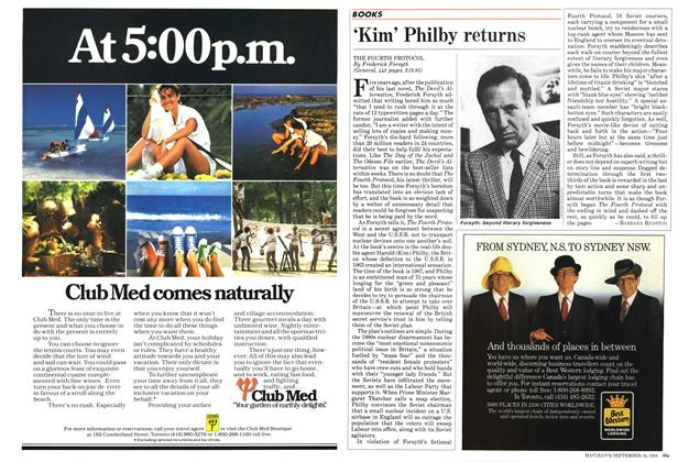 Article Preview: 'Kim' Philby returns, SEPTEMBER 24,1984 1984   Maclean's