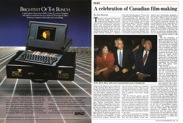 Article Preview: A celebration of Canadian film-making, SEPTEMBER 24,1984 1984 | Maclean's