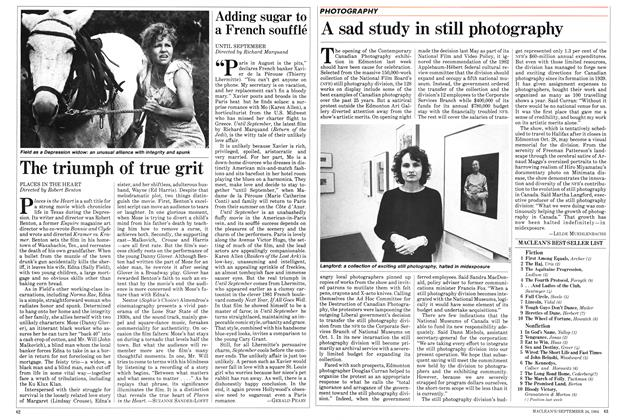 Article Preview: A sad study in still photography, SEPTEMBER 24,1984 1984 | Maclean's