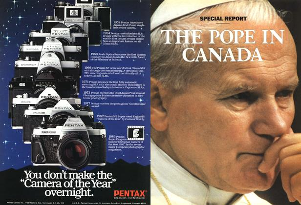 Article Preview: A HISTORIC TOUR BY A POPE ON A HUMAN MISSION, October 1984 | Maclean's