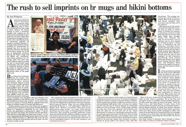 Article Preview: The rush to sell imprints on beply touch all people, October 1984 | Maclean's