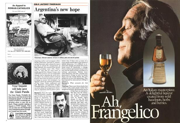 Article Preview: Argentina's new hope, October 1984 | Maclean's