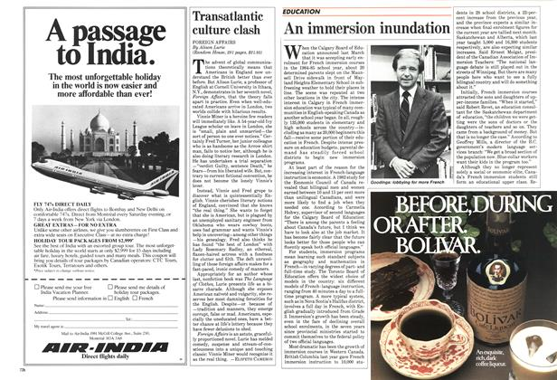 Article Preview: An immersion inundation, October 1984 | Maclean's