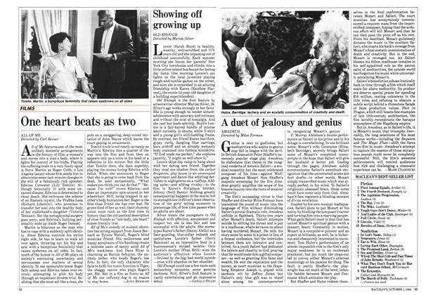 Article Preview: Showing off growing up, October 1984 | Maclean's