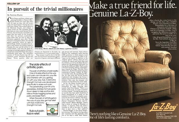 Article Preview: In pursuit of the trivial millionaires, October 1984 | Maclean's