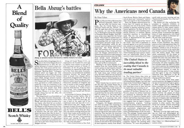 Article Preview: Bella Abzug's battles, October 1984   Maclean's