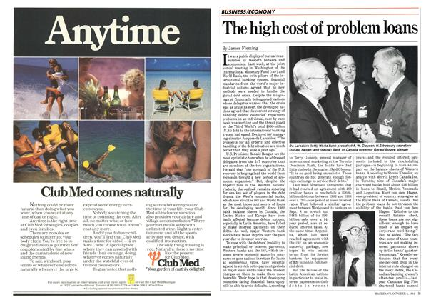 Article Preview: The high cost of problem loans, October 1984 | Maclean's