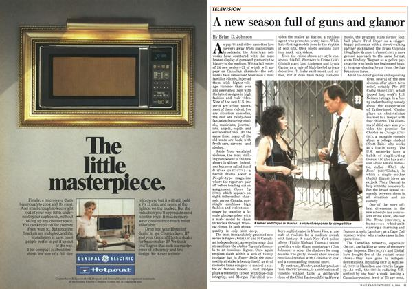 Article Preview: A new season full of guns and glamor, October 1984 | Maclean's