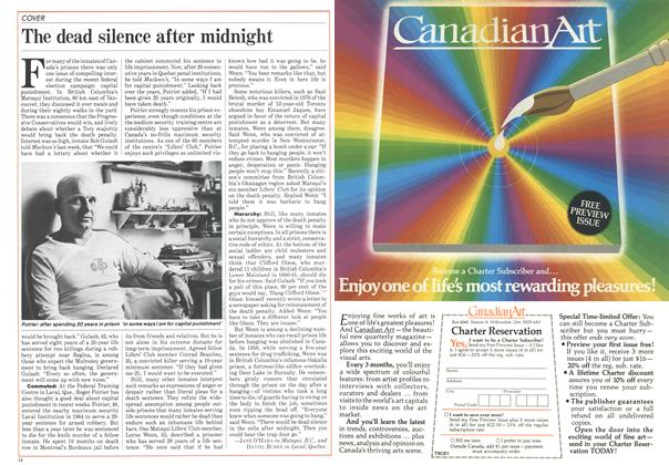 Article Preview: The dead silence after midnight, October 1984 | Maclean's