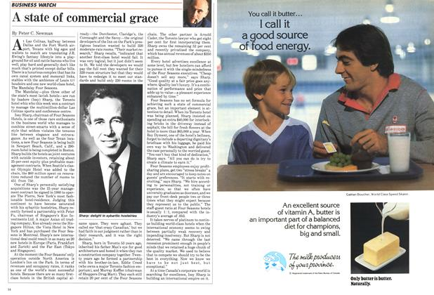 Article Preview: A state of commercial grace, October 1984   Maclean's