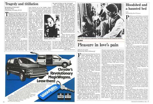 Article Preview: Tragedy and titillation, October 1984 | Maclean's