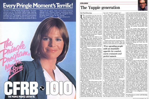 Article Preview: The Yuppie generation, October 1984 | Maclean's