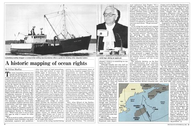 Article Preview: A historic mapping of ocean rights, October 1984 | Maclean's