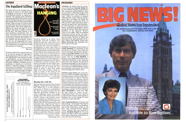 Article Preview: On legalized killing, October 1984 | Maclean's