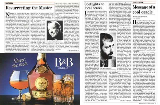 Article Preview: Resurrecting the Master, October 1984 | Maclean's