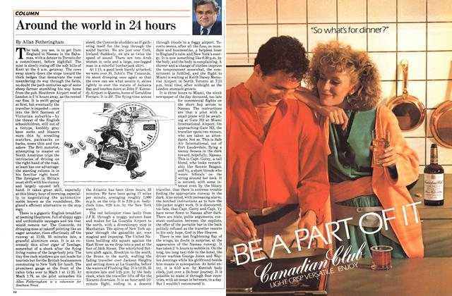 Article Preview: Around the world in 24 hours, October 1984 | Maclean's