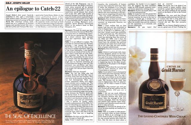 Article Preview: An epilogue to Catch-22, October 1984 | Maclean's
