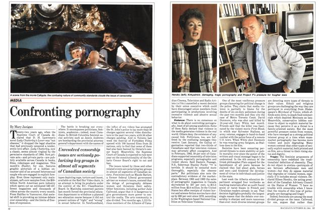 Article Preview: Confronting pornography, October 1984 | Maclean's