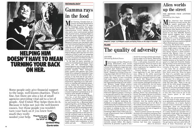 Article Preview: The quality of adversity, October 1984 | Maclean's