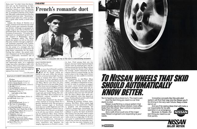 Article Preview: French's romantic duet, October 1984 | Maclean's