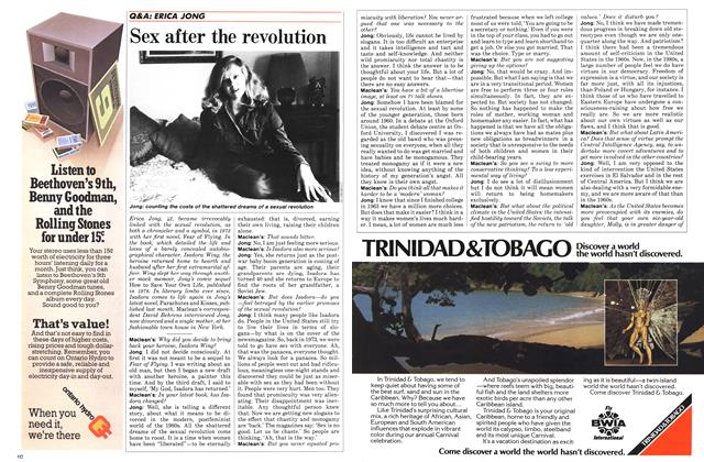 Article Preview: Sex after the revolution, November 1984 | Maclean's