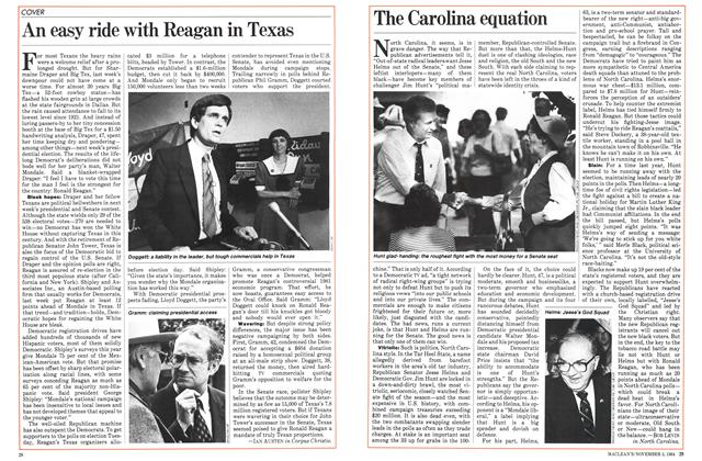 Article Preview: The Carolina equation, November 1984 | Maclean's