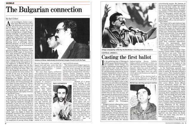 Article Preview: The Bulgarian connection, November 1984 | Maclean's