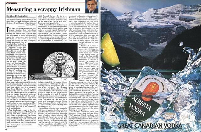 Article Preview: Measuring a scrappy Irishman, November 1984 | Maclean's