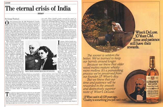Article Preview: The eternal crisis of India, November 1984 | Maclean's