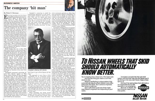 Article Preview: The company 'hit man', November 1984 | Maclean's