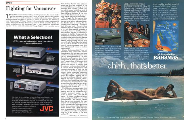 Article Preview: Fighting for Vancouver, November 1984 | Maclean's