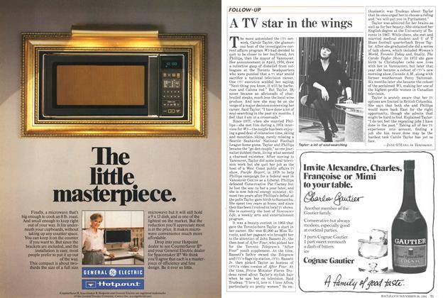 Article Preview: A TV star in the wings, November 1984 | Maclean's
