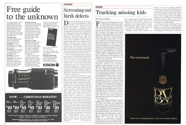 Article Preview: Tracking missing kids, November 1984 | Maclean's