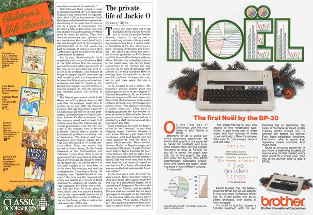 Article Preview: The private life of Jackie O, December 1984 | Maclean's