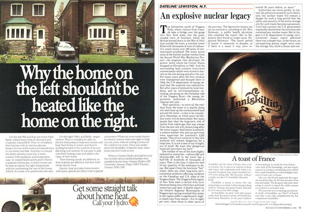 Article Preview: An explosive nuclear legacy, December 1984 | Maclean's