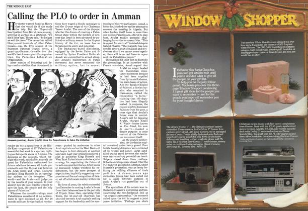 Article Preview: Calling the PLO to order in Amman, December 1984 | Maclean's