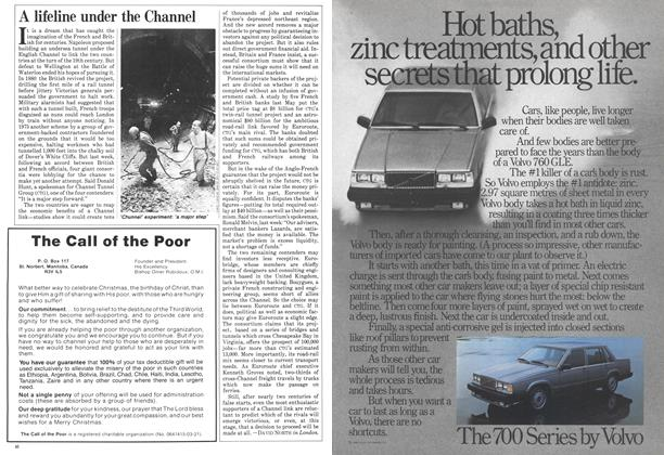 Article Preview: A lifeline under the Channel, December 1984 | Maclean's