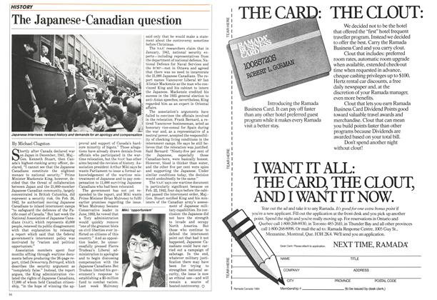 Article Preview: The Japanese-Canadian question, December 1984 | Maclean's