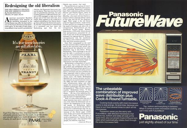 Article Preview: Redesigning the old liberalism, December 1984 | Maclean's