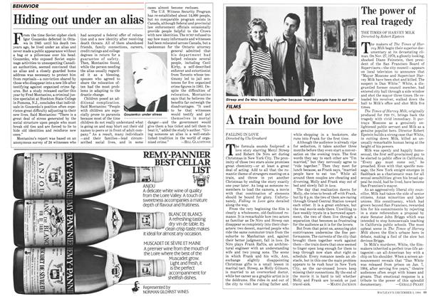 Article Preview: A train bound for love, December 1984 | Maclean's